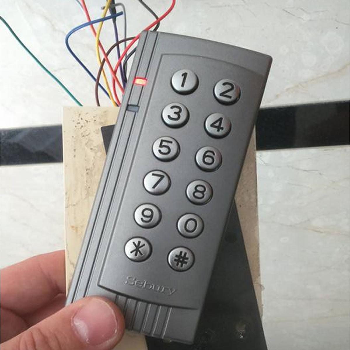 Control de acceso servicio tecnico
